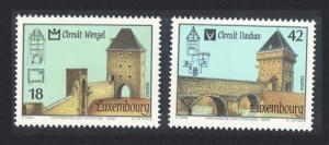 Luxembourg Circular City Walks 2v SG#1542-1543