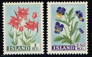 Iceland # 309 - 310 MNH