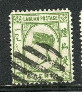 LABUAN; 1892-93 classic early issue fine used 6c. value