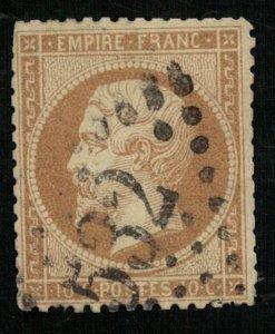France, 1862-1871 Emperor Napoléon III, Perforated, MC #20 (4325-Т)