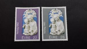 Ireland 1982 Christmas Stamps Mint