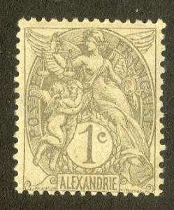 FRENCH OFFICE ABROAD ALEXANDRIA 16 USED SCV $0.80 BIN $0.40 PEOPLE