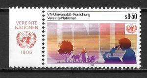 UN Vienna 49 University set with MI tab MNH