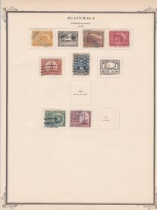 guatemala stamps page ref 17222