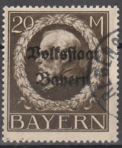 Bavaria #155 F-VF Used  CV $50.00 (A12938)