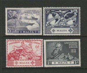 Malta 1949 UPU MM SG 251/4
