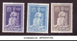 IRELAND - 1950 HOLY YEAR SCOTT#142-144 3V - MINT NH