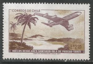 CHILE 413 MNH AIRPLANE 691A