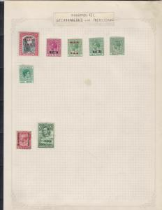 bahamas bechuanaland and protectorate stamps page ref 17408