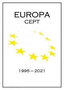Europa Cept 1995-2021 PDF (DIGITAL) STAMP ALBUM PAGES