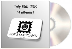 Italy 1861-2019 (4 albums) PDF STAMP ALBUM PAGES