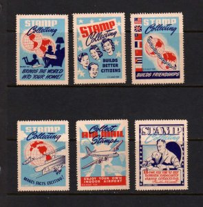 US FDR Cinderella Collect Stamps Series Cpl. Airplane MNH President Roosevelt