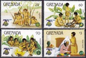 Grenada #1261-4 MNH CV $7.65 (Z8002)