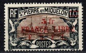 Saint Pierre And Miquelon  #221 MNH CV $22.50  (P683)