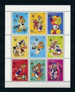 [22189] Belize 1986 Disney Characters  MNH