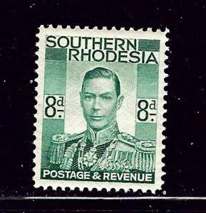 Southern Rhodesia 47 MNH 1937 KGVI