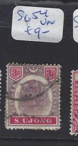 MALAYA  SUNGEI UJONG  (P0507B)  TIGER 3C    SG 54    VFU