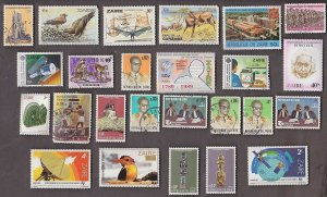 25 ZAIRE STAMPS