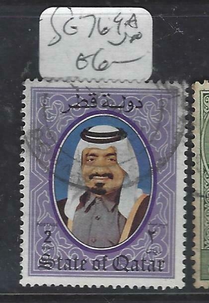QATAR  (PP1806BB) SG 769A  VFU