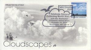 2004 Altocumulus Castellanus Cloudscapes  (Scott 3878i) Artcraft Cloud Pictorial