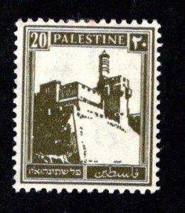 PALESTINE  SC# 77  FVF/MOG