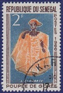 Senegal - 1966 - Scott #262 - used - Doll