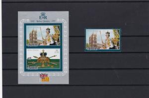 niue mint never hinged stamps sheet ref r9535