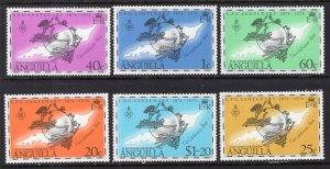 Anguilla 199-205 UPU MNH VF