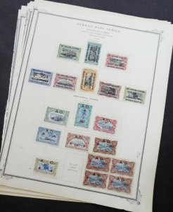 EDW1949SELL : GERMANY Mint & Used collect of German Occupation issues Cat $1,085