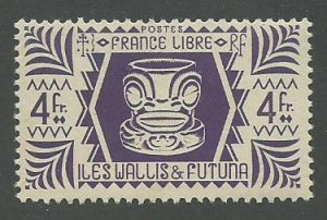 Wallis & Futuna Scott Catalog Number 137 Issued in 1944