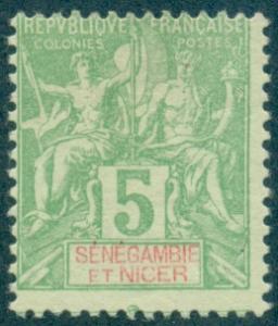 Senegambia & Niger #4  Mint  Scott $6.75   No Gum