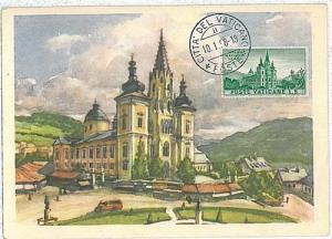 ARCHITECTURE : MAXIMUM CARD - VATICANO 1958