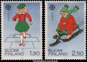 Finland Scott 795-796 Mint never hinged.