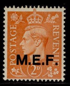BRITISH OC OF ITALIAN COLONIES GVI SG M12, 2d pale orange, NH MINT.