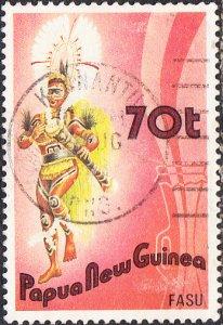 Papua New Guinea  #658  Used