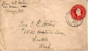United States, U.S. R.P.O.'s, Minnesota, North Dakota, Postal Stationery