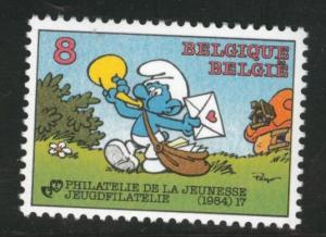 Belgium Scott 1182 MNH** 1984 stamp day comic