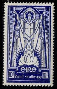 IRELAND GVI SG125, 10s deep blue, M MINT. Cat £60. ORDINARY