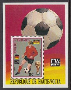 Burkina Faso C187 Soccer Souvenir Sheet MNH VF