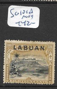 LABUAN (P2805B)  18C MOUNTAIN SG 101Z    MOG