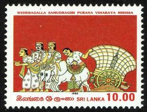 Sri Lanka #794  MNH - Vesak Festival (1986)