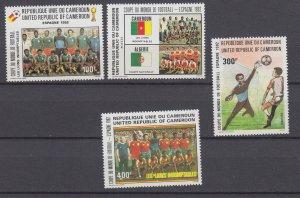 J29555,1982 cameroun set mnh #710-13 sports