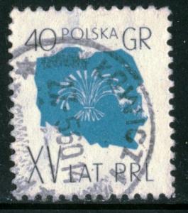 POLAND - SC #856 - Used - 1959 - Item Poland085