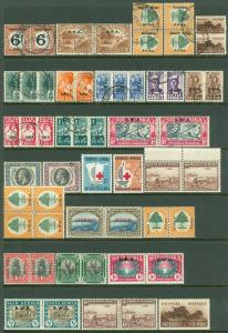 SOUTH WEST AFRICA : All VF, Mint & Used group of Better singles & sets. Cat £764