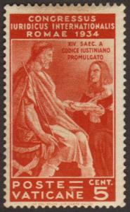 Vatican City #41 MH law congress