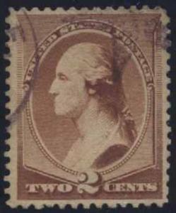 US Scott #210 Used, XF