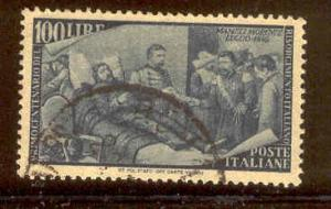 ITALY 506 USED DEATH OF GOFFREDO MAMELI