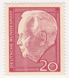 Germany,  Scott #881 (1), MH