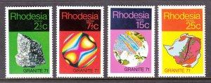Rhodesia - Scott #310-313 - MNH - SCV $11.50