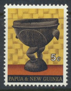Papua New Guinea SG 187  SC# 315 MH Native Artifacts see details and scans